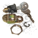 LOCK CYLINDER AND KEYS, WAGON DOOR