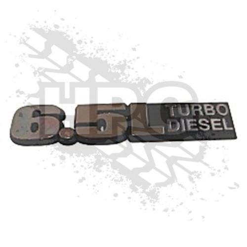 Hummer Parts Guy (HPG) - 6008595 | EMBLEM, 6.5L (TURBO DIESEL)