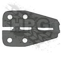 BRACKET, SUSPENSION (REAR) {LH/RH} *BLACK*