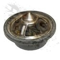 THERMOSTAT, ENGINE COOLANT (W/GASKET) 195F [H1 6.5L]