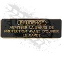 DECAL, BRUSHGUARD (FRENCH)