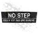 DECAL, NO STEP (ENGLISH/FRENCH)