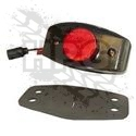 MARKER LIGHT, REAR (RED) *BLACK* {LED} [TRUCKLITE]