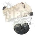 ASSEMBLY, WINDSHIELD RESERVOIR (DUAL PUMP) {MALE}