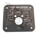 NAMEPLATE, CTIS SELECTOR (ENGLISH) {METAL}