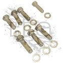 KIT, HALFSHAFT MOUNTING BOLTS & WASHERS (EACH) [PRE-APPLIED LOCTITE]