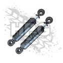 SHOCK ABSORBER (FRONT/REAR) {SET OF 2}
