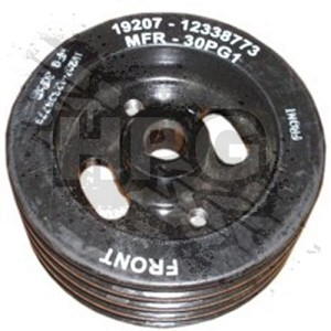 PULLEY, POWER STEERING (4 GROOVE)