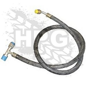 HOSE ASSEMBLY, A/C (MANIFOLD TO REAR AUX) {LOW PRESSURE}