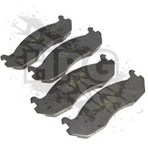 KIT, BRAKE PADS (FRONT OR REAR) {4 PADS}